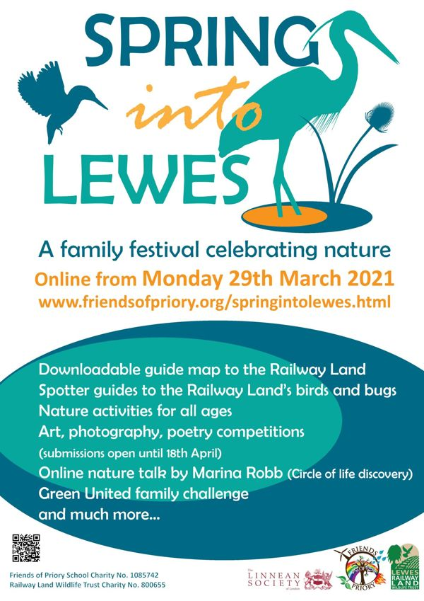 Spring into Lewes Poster QR